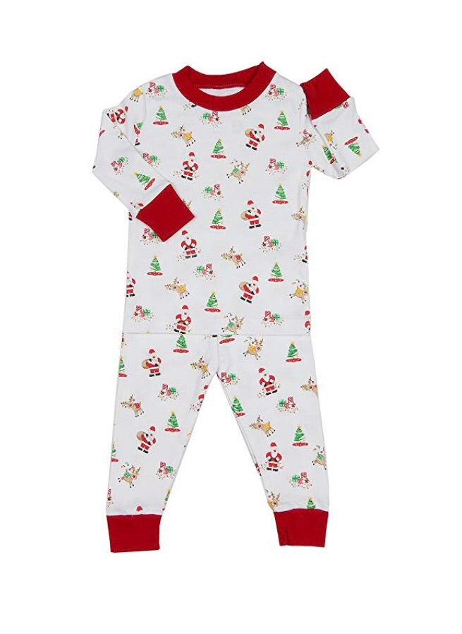 Kissy Kissy Santa's Helpers Long Pajamas