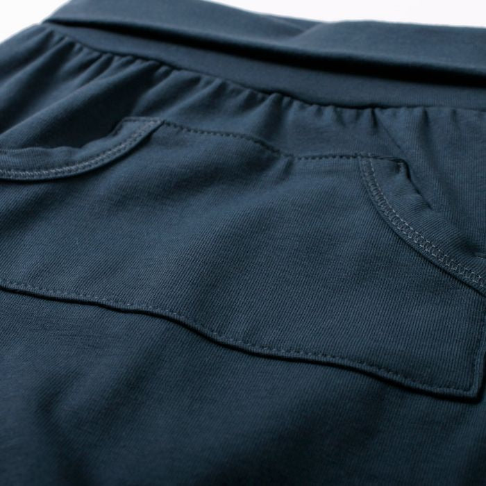 Cozy Pocket Pants in Midnight  - Doodlebug's Children's Boutique