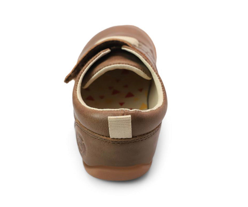 Swift First Walker in Dark Toffee  - Doodlebug's Children's Boutique
