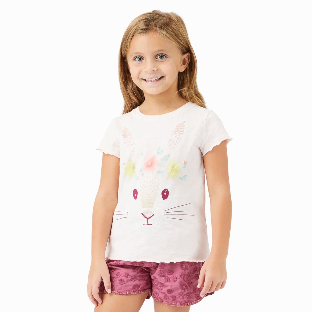 Teagan Bunny Tee  - Doodlebug's Children's Boutique