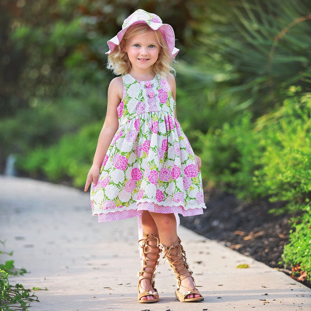 Summer Blooms Dress  - Doodlebug's Children's Boutique