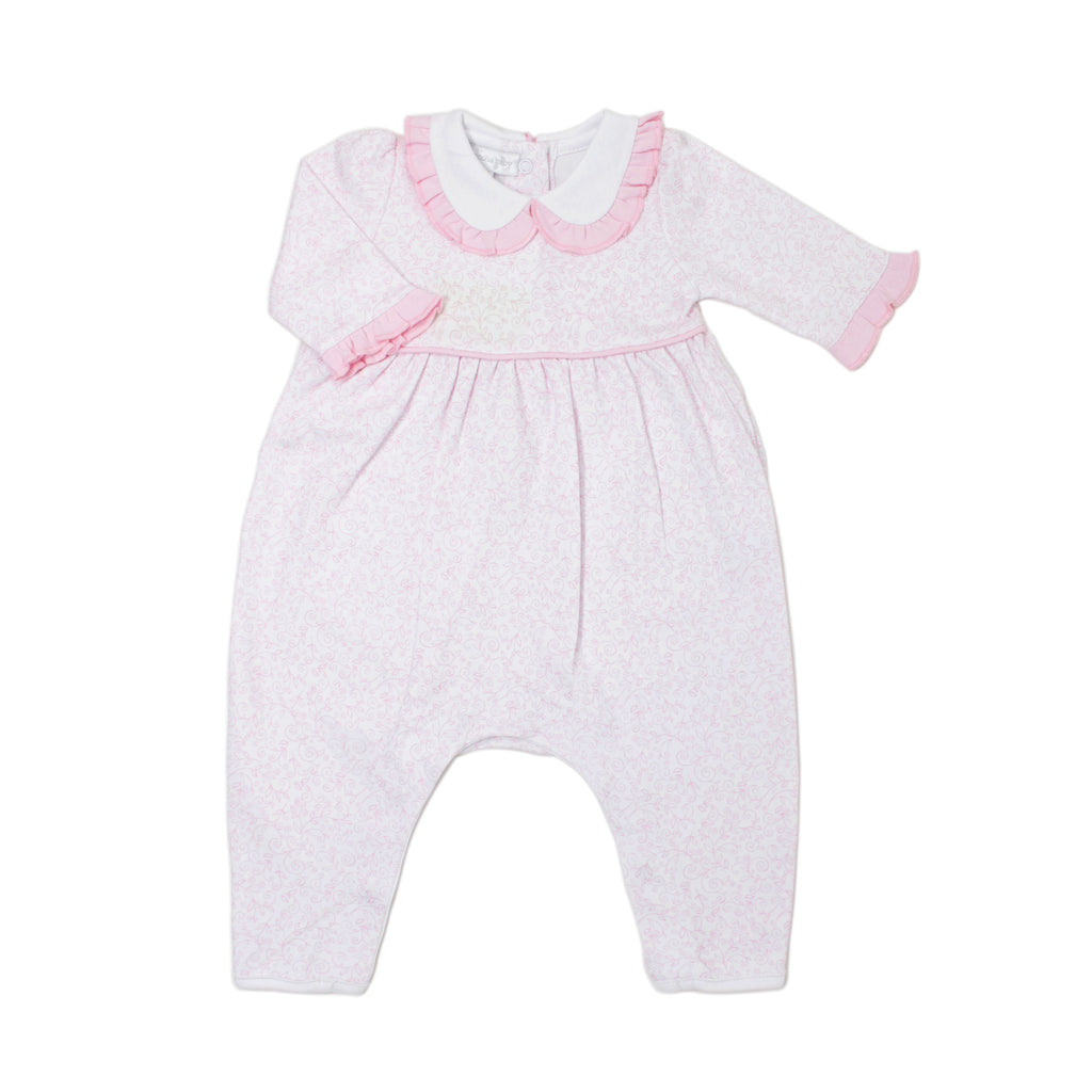Melissa's Classics Collared Playsuit  - Doodlebug's Children's Boutique