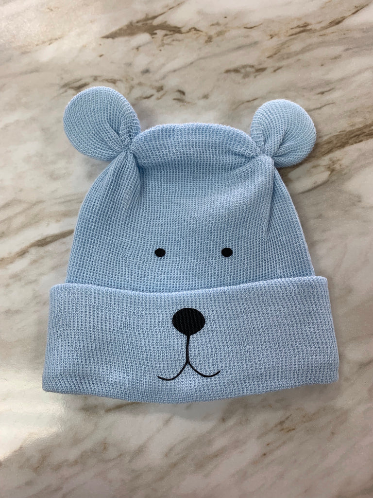 Cradle Cuties Newborn Hat for Boys  - Doodlebug's Children's Boutique