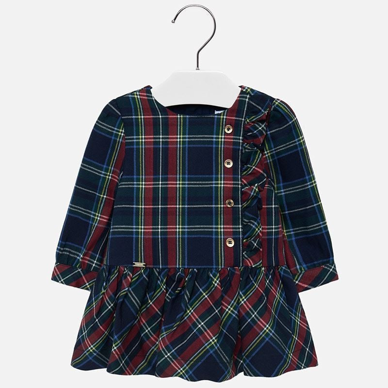 Plaid Dress  - Doodlebug's Children's Boutique