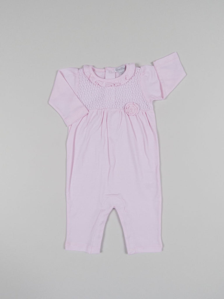 Kissy Kissy Pink Enchantment Playsuit with Knit