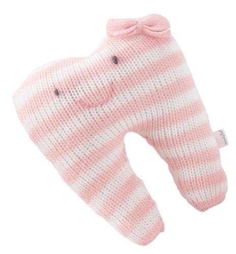 Pink Stripes Tooth Fairy Pillow Pink Stripes - Doodlebug's Children's Boutique