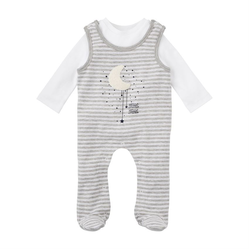 Hello Moon Jumper Set  - Doodlebug's Children's Boutique