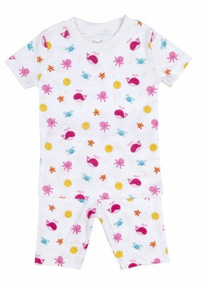 Kissy Kissy Deep Sea Delight Girls Short Pajamas