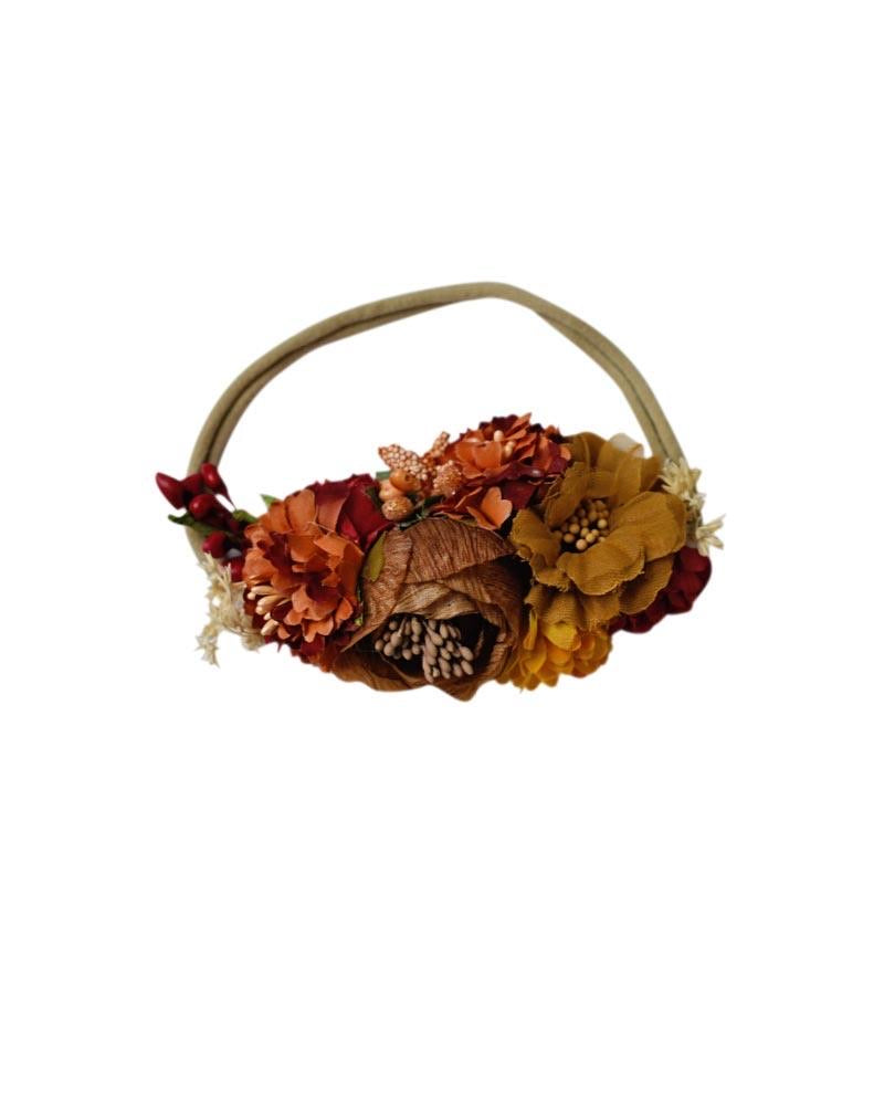 Bailey's Blossoms Fall Splendor Stretch Headband