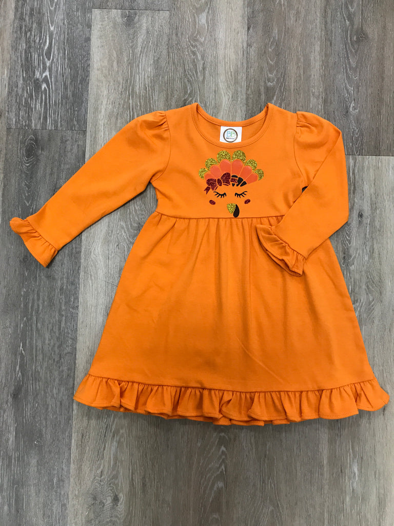 Turkey Dress  - Doodlebug's Children's Boutique