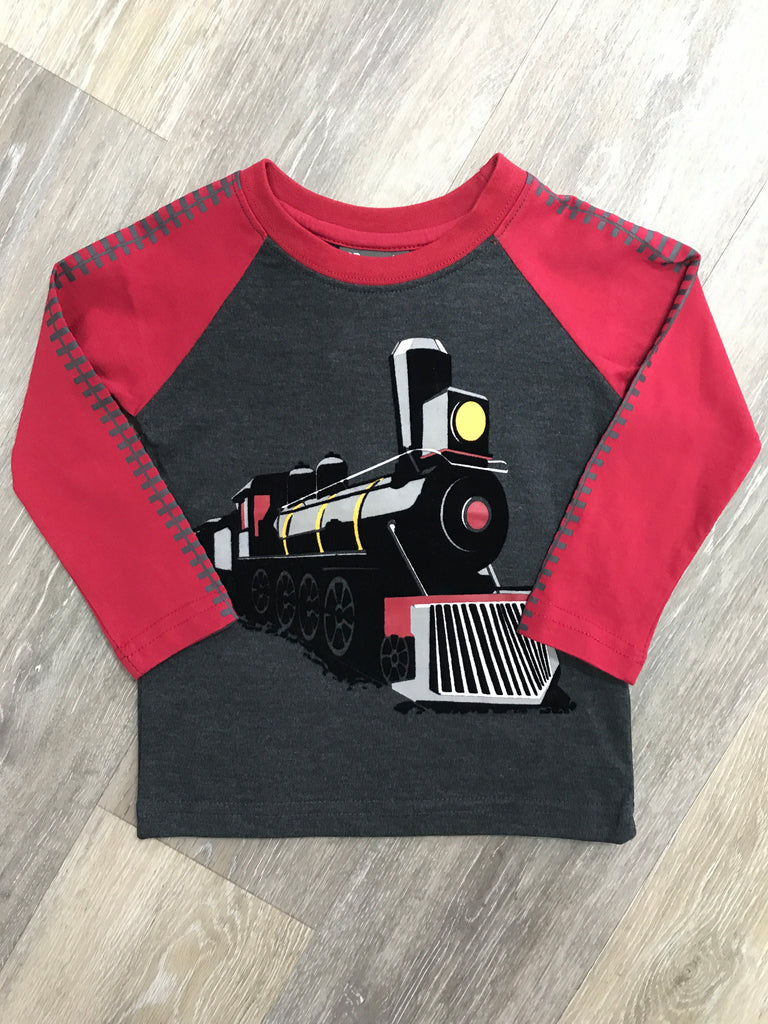 CR Sports Train Shirt  - Doodlebug's Children's Boutique