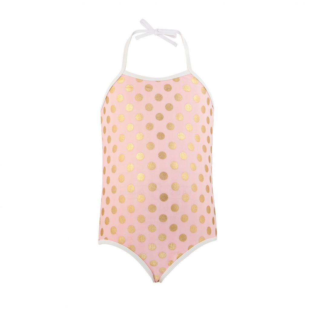 Snapperrock Gold Dot Swimsuit