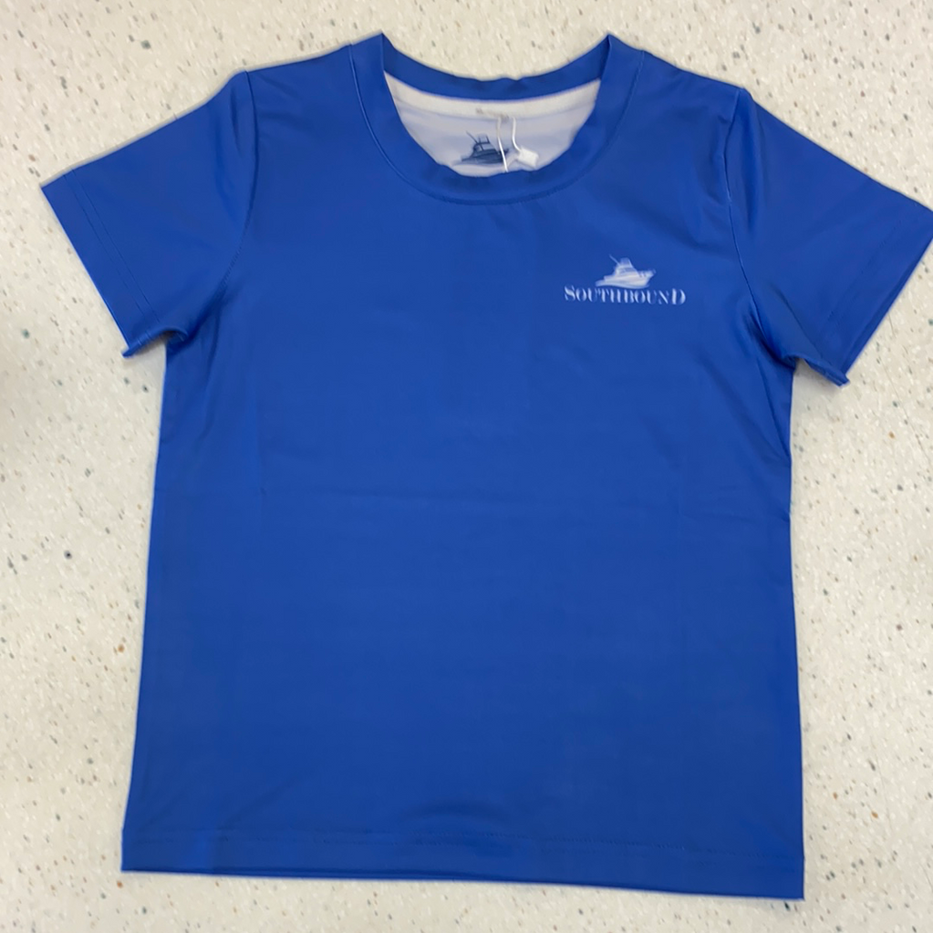Fishing Performance Tee  - Doodlebug's Children's Boutique
