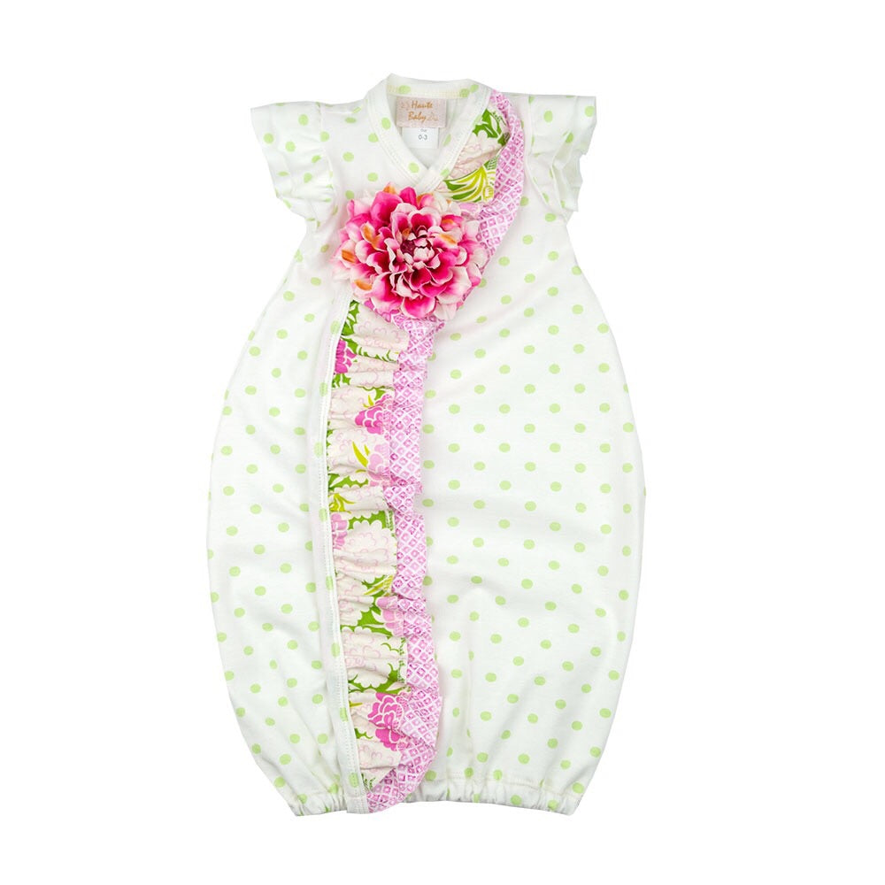 Haute Baby Summer Blooms Gown