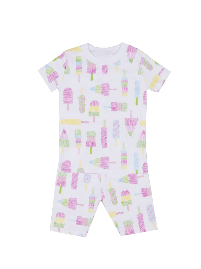 Kissy Kissy Spring Popsicle Girls Short Pajamas