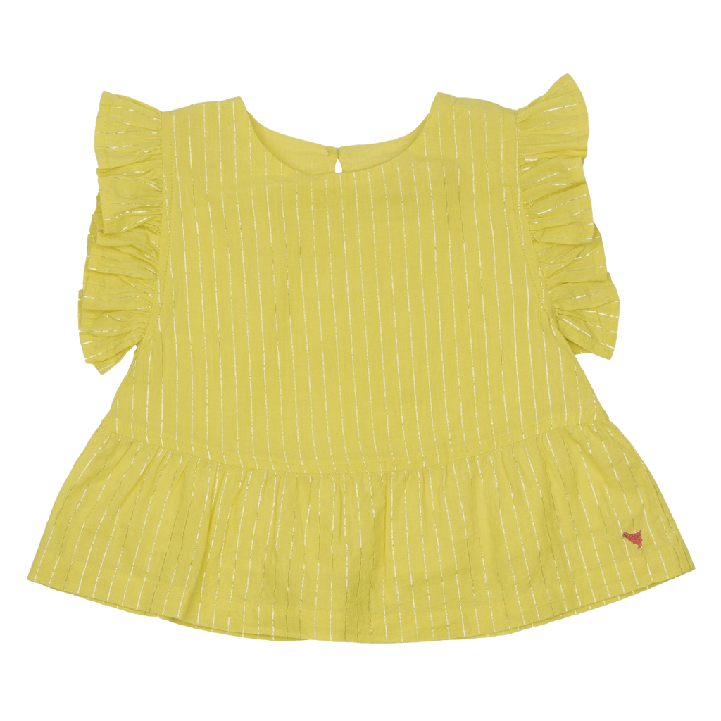 Kit Top and Millie Shorts Set in Gardenia Jasmine Tree  - Doodlebug's Children's Boutique