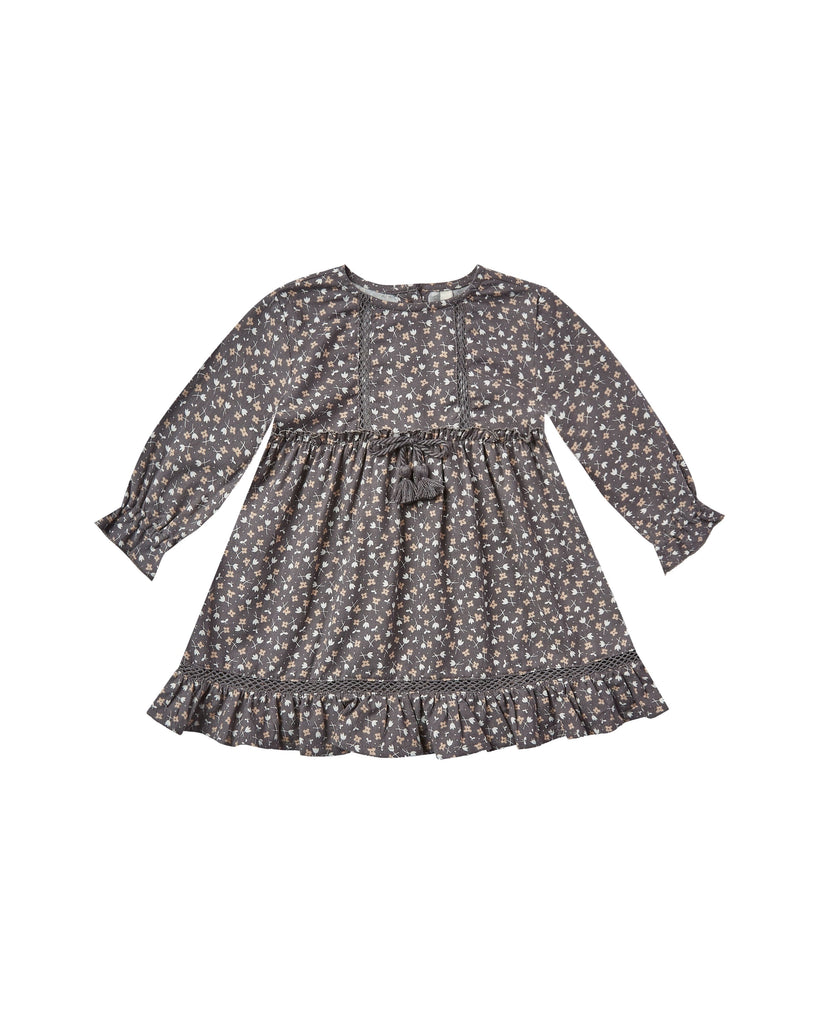 Ditsy Isabella Dress  - Doodlebug's Children's Boutique