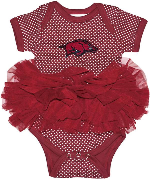 Two Feet Ahead Arkansas Razorback Tutu Creeper
