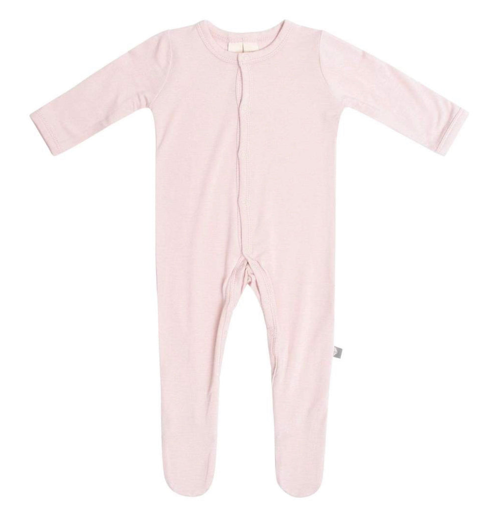 Footie in Blush Dusk / Newborn - Doodlebug's Children's Boutique