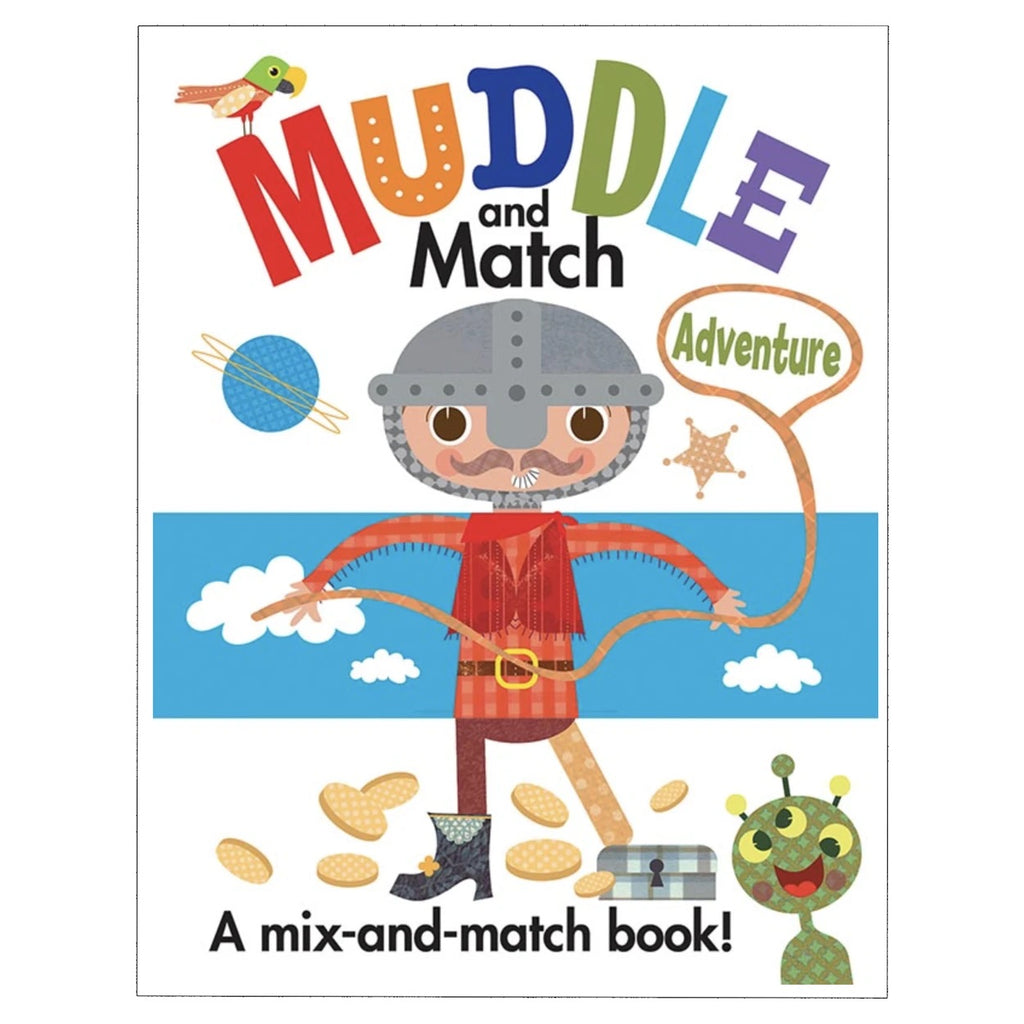 Muddle and Match Adventure Book  - Doodlebug's Children's Boutique