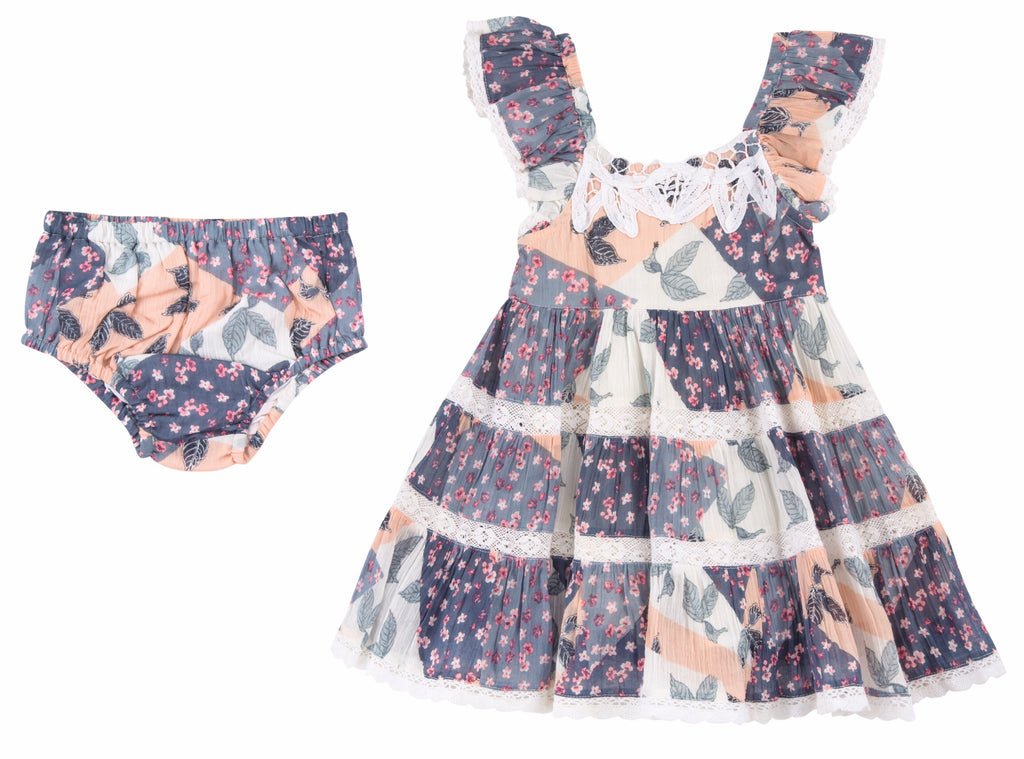 Mimi & Maggie Billowy Dress Set