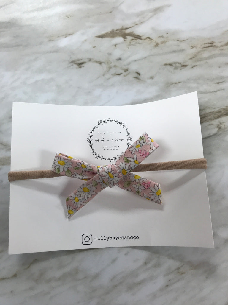 Molly Hayes & Co. Hand-Tied Bow Headband