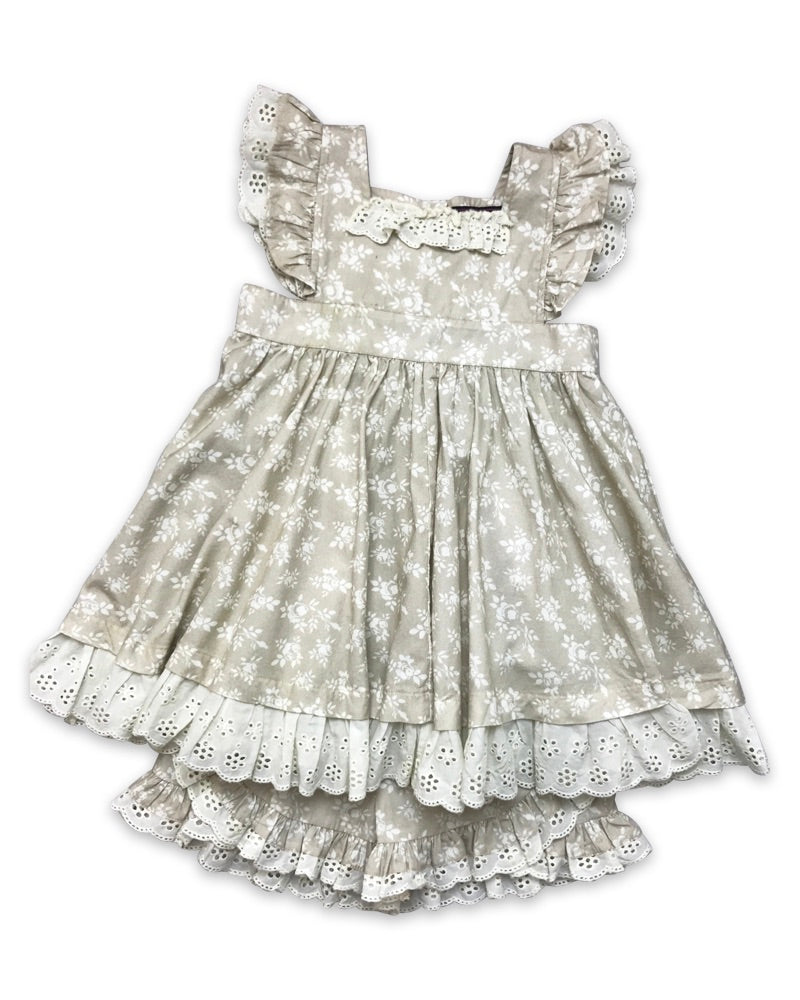 Isla Pinafore Set  - Doodlebug's Children's Boutique