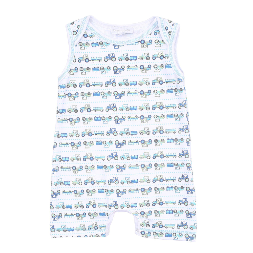 Magnolia Baby Tractor Time Playsuit