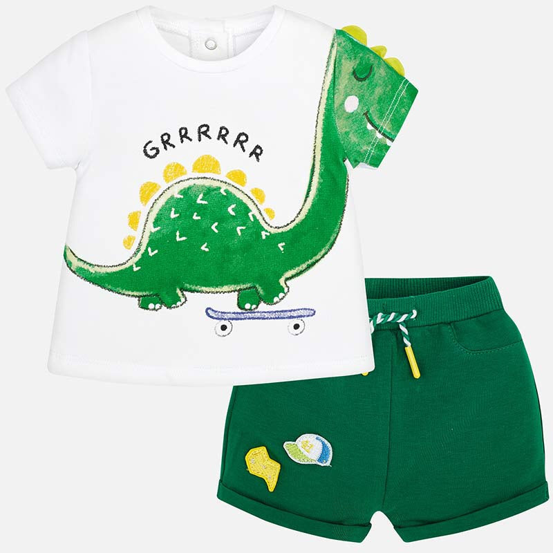Mayoral T-Shirt and Shorts Set  - Doodlebug's Children's Boutique