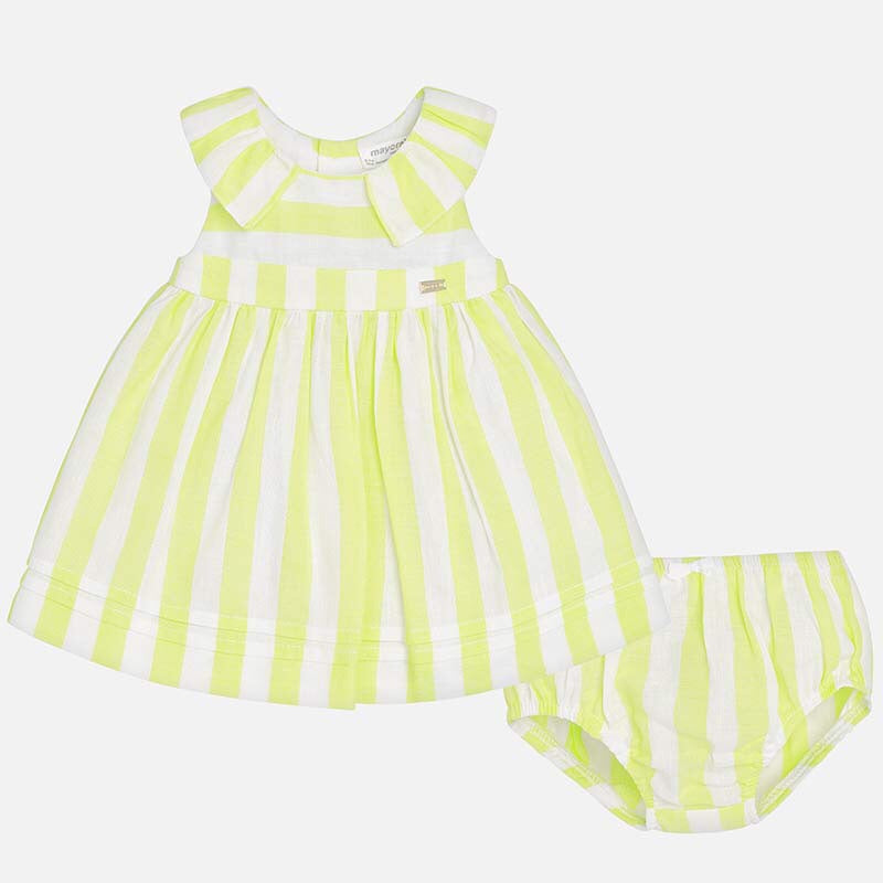 Mayoral Striped Dress with Bloomers  - Doodlebug's Children's Boutique
