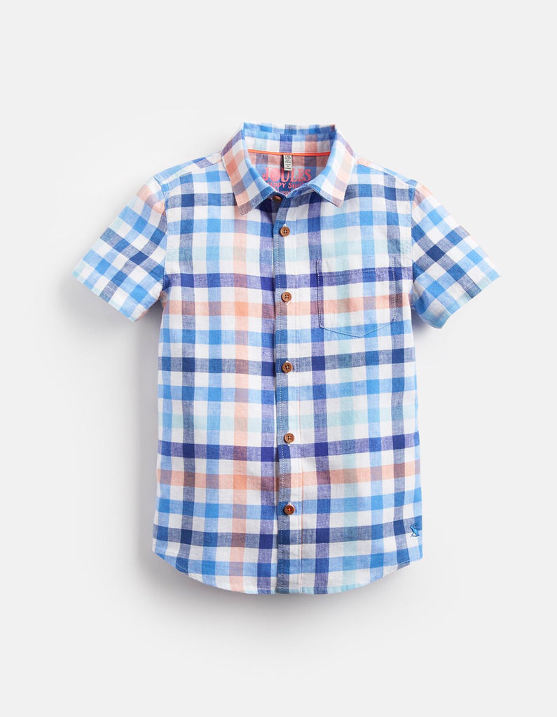 Joules Sark Short Sleeve Check Shirt