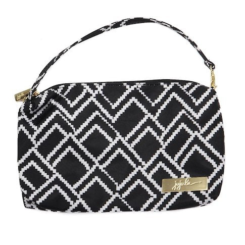 Jujube Legacy Wristlet Black and White Checkered
