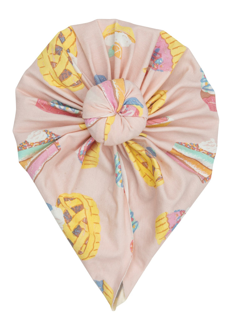 Headwrap in Sweetie Pies  - Doodlebug's Children's Boutique