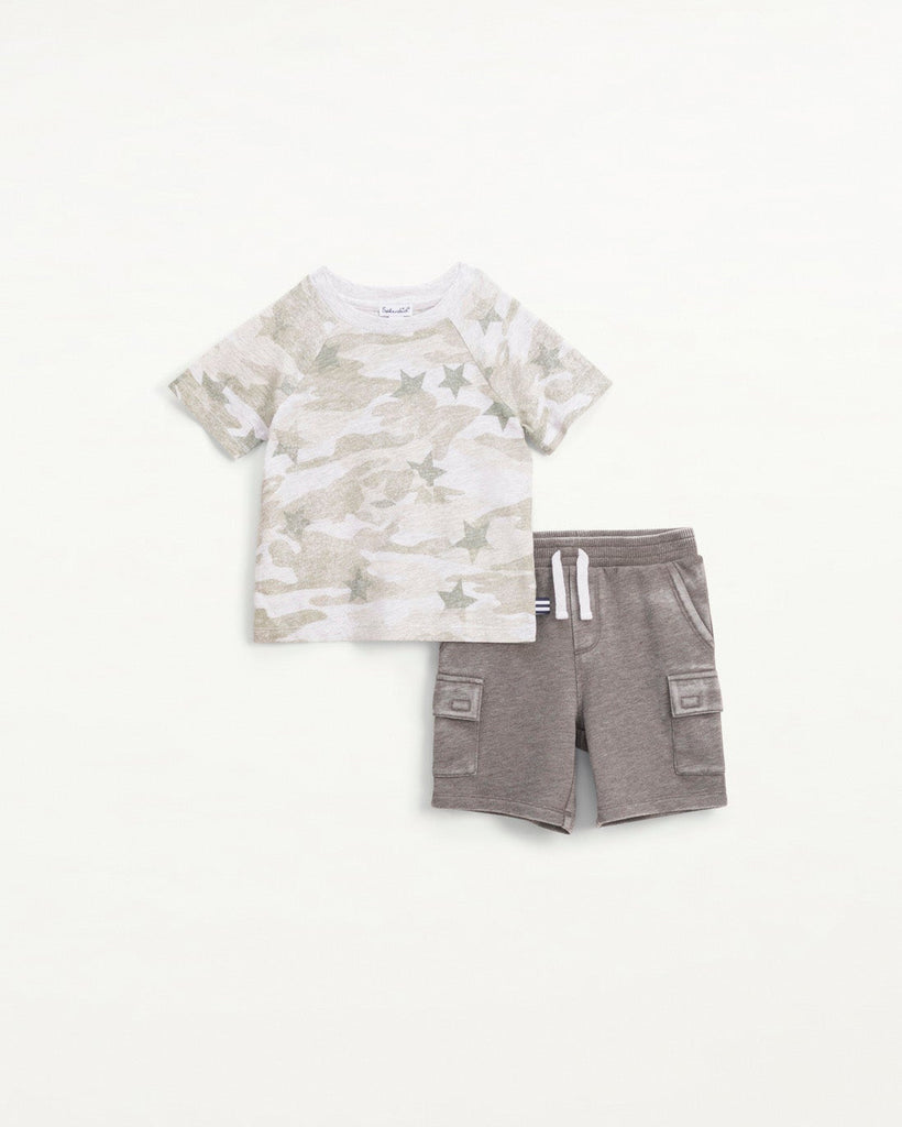 Star Camo Tee Set  - Doodlebug's Children's Boutique