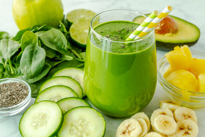 5-minute Super Food Vegan Green Smoothie