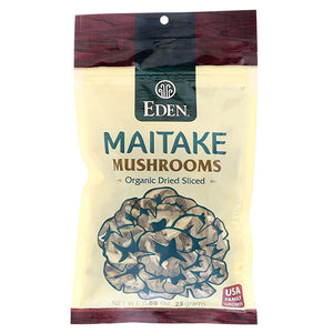 Eden Foods Maitake Mushrooms Organic Dried Sliced, 0.88-Ounce Package