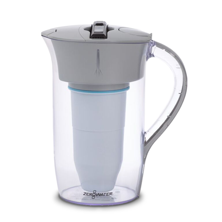 Zerowater 8 Cup Round Pitcher With Tds Meter Rejuvenation