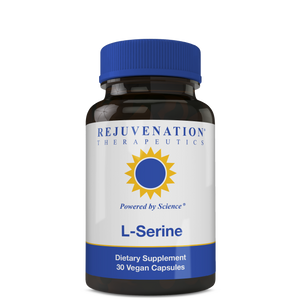 L-Serine (500 mg, 30 Vegan Capsules) - Cognitive Support & Peaceful Sleep, Non-GMO, Gluten-Free