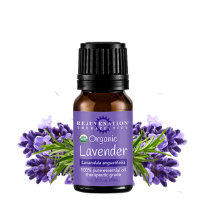 Organic Lavender Essential Oil (10 ml) - Relaxation, Sleep, Stress & Anxiety Relief