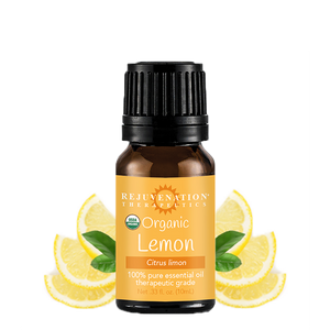 Organic Lemon Essential Oil (10 ml) - For Better Feeling & Looking Skin