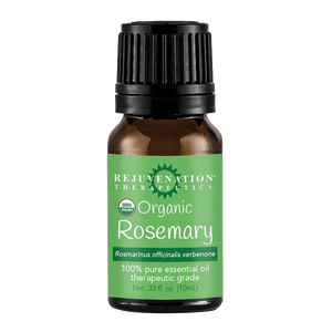 Organic Rosemary Essential Oil (10 ml) - Relaxation, Hair, and Skincare Treatment