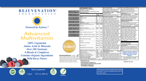 Advanced Multivitamin (32 fl. oz.) - Daily Vitamins & Minerals for Immune Health & More, Vegan, Non-GMO, Gluten-Free