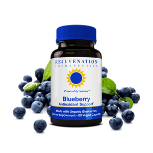 Organic Blueberry Extract (350 mg, 60 Vegan Capsules) - Cognitive Health & Health-Promoting Antioxidants, Non-GMO, Gluten-Free