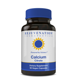 Calcium Citrate (600 mg, 90 Vegan Capsules) - Bone & Heart Health, Non-GMO, Gluten-Free