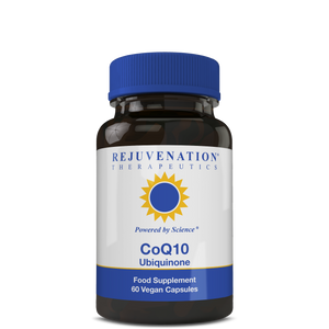 CoQ10 (Ubiquinone) (100 mg, 60 Vegan Capsules) - Heart Health & Cellular Energy Support, Non-GMO, Gluten-Free