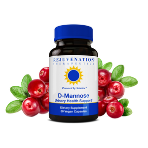 D-Mannose (750 mg, 60 Vegan Capsules) - Urinary Tract Health & Metabolism Support, Non-GMO, Gluten-Free