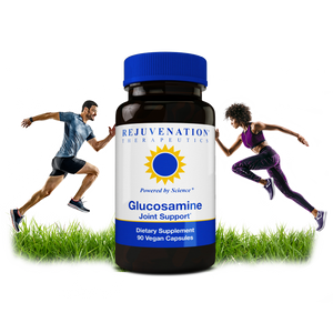 Glucosamine (1500 mg, 90 Vegan Capsules) - Healthy Joints & Cartilage, Non-GMO, Gluten-Free