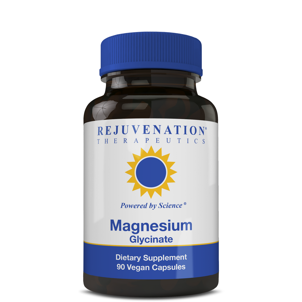 Magnesium Glycinate (300 mg, 90 Vegan Capsules) - Cardiovascular & Whole-Body Health Support, Non-GMO, Gluten-Free