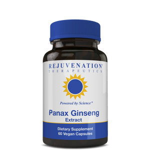 Panax Ginseng Extract (600 mg, 60 Vegan Capsules) - Healthy Energy Management, Non-GMO, Gluten-Free