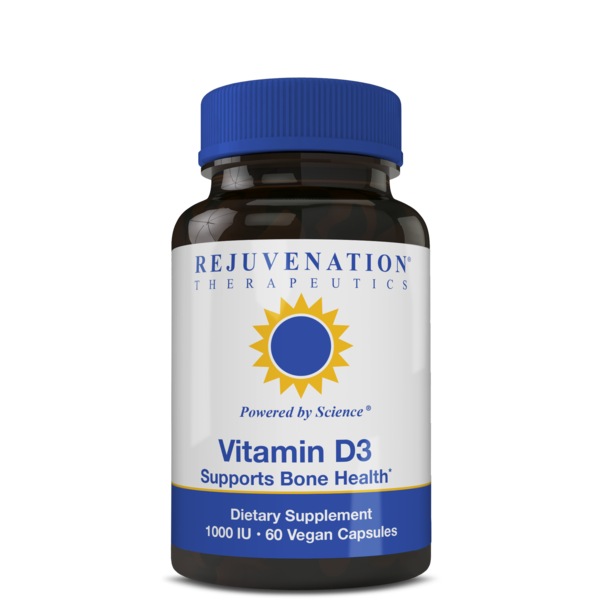 Vitamin D3 (1000IU/4000IU, 60 Vegan Capsules) - Whole-Body Health Nutrient, Non-GMO, Gluten-Free